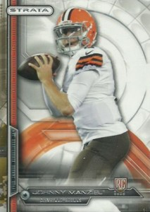 2014 Topps Strata Variation Johnny Manziel