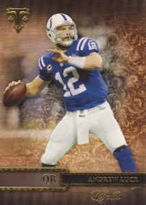 2014 Topps Triple Threads Football Base Andrew Luck