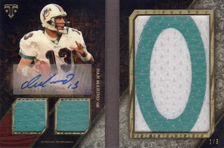 2014 Topps Triple Threads Football Cards 27