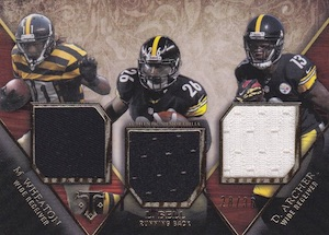 2014 Topps Triple Threads Football Relic Trios