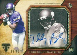 2014 Topps Triple Threads Football Transparencies Bridgewater