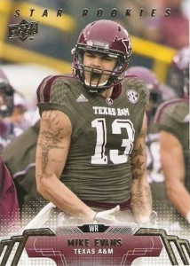Mike Evans Visual Rookie Card Guide and Checklist 53