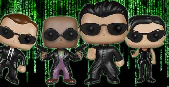 Funko Pop Matrix Vinyl Figures 1
