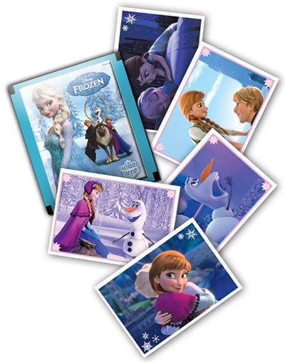 2015 Panini Frozen Enchanted Moments Stickers