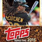 2015 Topps Series 2 Baseball Cards