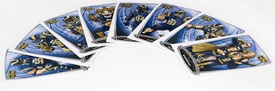 St. Louis Rams Mascot Undergoes Haircut for Topps Relic Cards 2