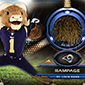 St. Louis Rams Mascot Undergoes Haircut for Topps Relic Cards