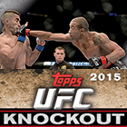 2015 Topps UFC Knockout Trading Cards