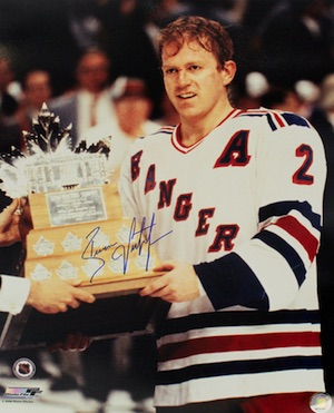 Brian Leetch New York Rangers Signed Photo