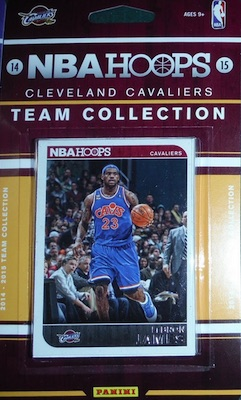 Cleveland Cavaliers Team Card Set