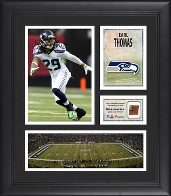 Earl Thomas Seattle Seahawks Framed Collage