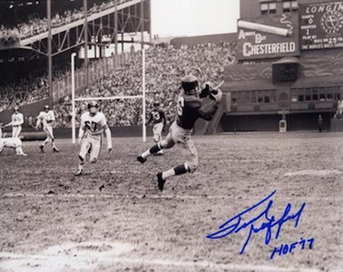 Frank Gifford New York Giants Signed Photo