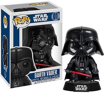 Funko Pop Star Wars 01 Darth Vader