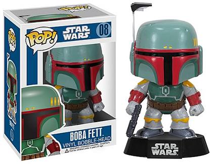 Funko Pop Star Wars 08 Boba Fett
