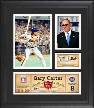 Gary Carter New York Mets Framed Collage