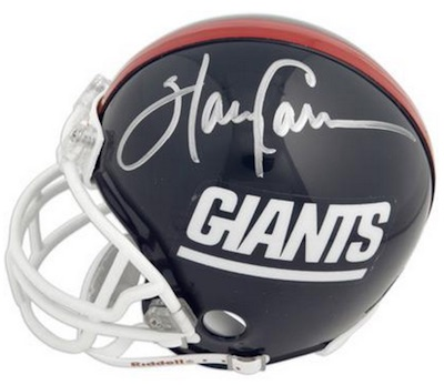 Harry Carson New York Giants Signed Mini-Helmet