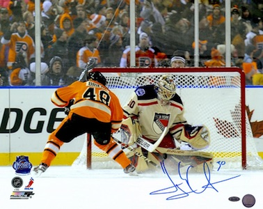 Henrik Lundqvist New York Rangers Signed Photo
