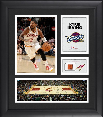 Kyrie Irving Cleveland Cavaliers Framed Collage