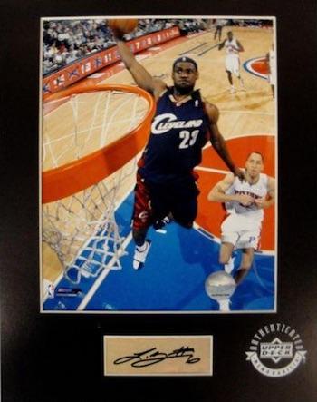 LeBron James Cleveland Cavaliers Signed Photo