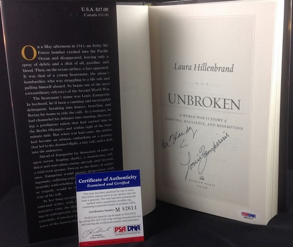 Complete Collecting Guide to Unbroken's Louis Zamperini  5