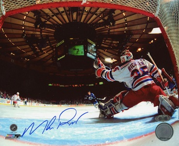 Mike Richter New York Rangers Signed Photo
