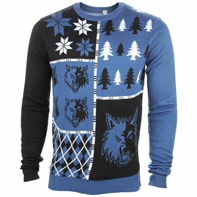 Minnesota Timberwolves Ugly Sweater