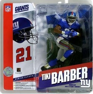 New York Giants Mcfarlane Tiki Barber