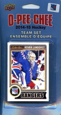 New York Rangers Team Card Sets