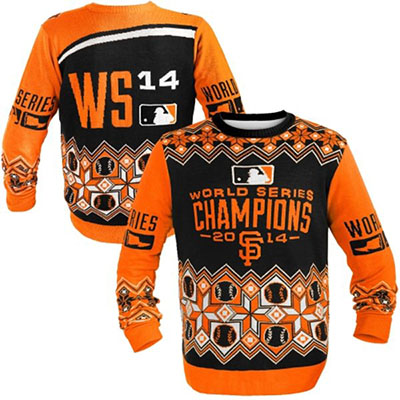 San Francisco Giants 2014 World Series Ugly Sweater
