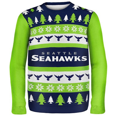 Seattle Seahawks Ugly Sweater