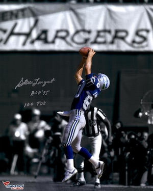 Steve Largent Seattle Seahawks Signed Photo