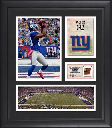 Victor Cruz New York Giants Framed Collage