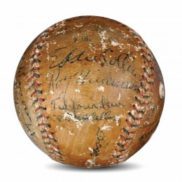 1920 Chicago White Sox Signed Ball A