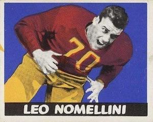 1948 Leaf Leo Nomellini RC #52