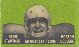 1950 Topps Felt Backs Football Cards 3