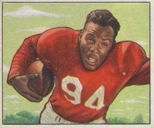 1950 Bowman Joe Perry RC #35