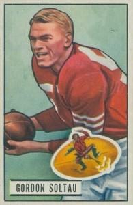 1951 Bowman Gordy Soltau RC #67