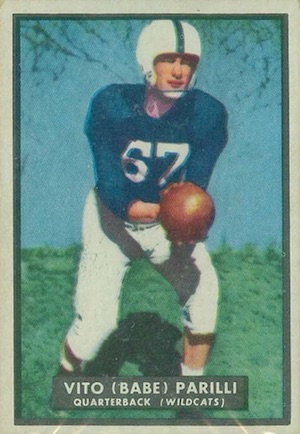 1951 Topps Magic Football Cards 3