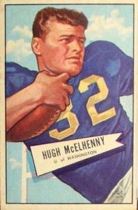 1952 Bowman Hugh McElhenny RC #29