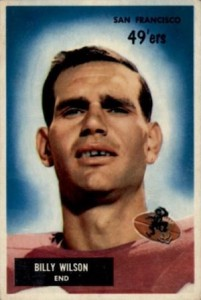 1955 Bowman Billy Wilson RC #81