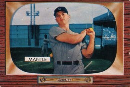 1955 Bowman Mickey Mantle
