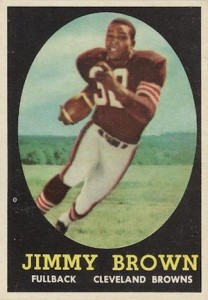 1958 Topps Jim Brown RC #62