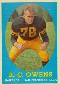 1958 Topps R.C. Owens RC #64