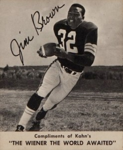 1959 Kahn's Jim Brown