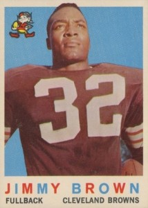 1959 Topps Jim Brown #10