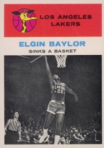 Elgin Baylor Rookie Card and Vintage Card Guide 2