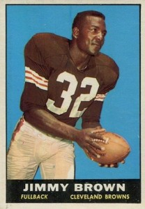 1961 Topps Jim Brown #71