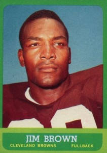 1963 Topps Jim Brown #14