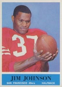 1964 Philadelphia Jimmy Johnson RC #161