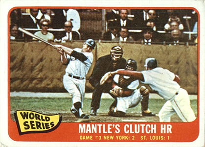 Comprehensive Guide to 1960s Mickey Mantle Cards 139